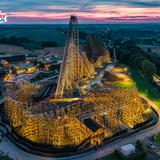 Image: Launch of the world's tallest Wooden Roller Coaster ZADRA in Energyland